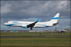 SP-ESD Boeing 737-8AS(W) Enter Air (elevationair ✈) Tags: dublin airport dublinairport dub eidw arrival landing sun sunny sunshine eicsv spesd budgetcarrier lcc lowcostcarrier avgeek aviation airplane plane enter enterair boeing 737 738 boeing7378asw