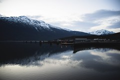 (i threw a guitar at him.) Tags: alaska skagway march 2019 dock pier water mountains landscape face mountain view harbor harbour lynn canal south east southeast clouds sky