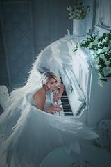 angel (Melodyphoto3) Tags: photo art artphoto fineart canon people portrait light angel piano music