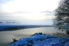 Happy Boxing Day Y'all..:) (law_keven) Tags: christmas essex dedham photography landscapephotography snow winter inwinter winterwonderland sunrise landscape sky mist grass trees