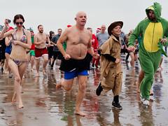 Porthcawl - Christmas Day 2018   16 (stevedexteruk) Tags: porthcawl christmas swim day christmasday christmasswim fancydress costume 2018 wales sea seaside beach sandybay