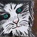 ''Warm Kitty'' by TL, acrylic, $20.00