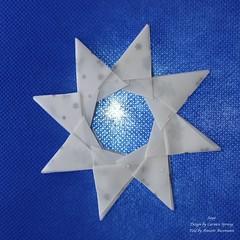 Saya (AnkaAlex) Tags: origami origamiart origamistar modulorigami modular modul star paperfolding paper paperfoldingart carmensprung bluestar