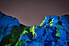 _0PC8234AP (pcartermiet) Tags: rocks lightpainting night landscape outdoors cowandcalf ilkley nikon d810 quarry rock sky stars
