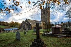 A Dartmoor Church - NK2_6871 (Jean Fry) Tags: churchofstleonard dartmoor dartmoornationalpark devon englanduk nationalparks sheepstorchurch sheepstorvillage uk westcountry autumn autumncolours churchyards churches