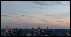 Cold sunset in Moscow (Agnes_U) Tags: moscow mosca sunset marzo compleanno birthday motorola motog3 march moscowview teatralnyproezd view sun nuances pink moskva winter snow roof kremlin cremlino kremlinwall redstar soviet christthesaviour mgu мгу кремль москва вид манеж детскиймагазин центрмосква нюанс
