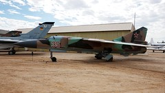 Mikoyan-Gurevich MiG-23MLD in Tucson (J.Comstedt) Tags: aircraft flight aviation air aeroplane museum airplane us usa planes pima space tucson az johnny comstedt mikoyan gurevich mig23 35 russia force