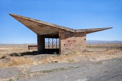 (ilConte) Tags: armenia armenian architettura architecture architektur busstop modernism modernist sovmod sovietmodernism