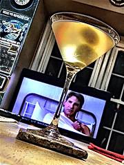"2019 037/365! Young Mirror Universe Harrison Fjord covets thy ""holy crap it's only frickin' Wednesday"" dinner time Martini. (_BuBBy_) Tags: 037365 gin booze drunk drank drink martini days 365days 365 37 037"
