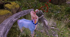 Love is in the Air (schmetterlingchen.resident) Tags: jinx secondlife virtuallife centaur whymsical fantasy hippie