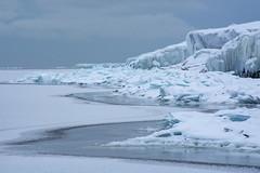 Otherworldly (Mark Polson) Tags: ice chards lakesuperior winter tettegouche state park