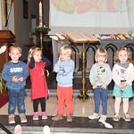 Gezinsviering samen met de kinderen van de eerste kleuterklas!