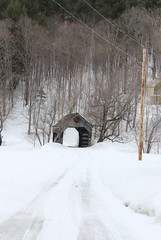 Teago Covered Bridge (pegase1972) Tags: coveredbridge bridge pont hiver neige snow winter us usa unitedstates explore explored vt vermont newengland