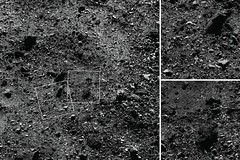 A Region of Bennu's Northern Hemisphere Close Up (NASA's Marshall Space Flight Center) Tags: nasa marshall space flight center msfc goddard gsfc osirisrex asteroid regolith bennu new frontiers