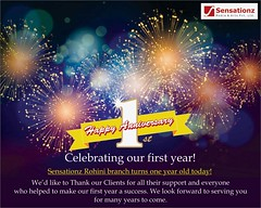 Sensationz Rohini branch turns one year old today! (sensationz4u@ymail.com) Tags: happyanniversary 1styear thank clients success celebrating enjoy celebration party love newyear celebrate happynewyear fun happy newyearseve instagood nye music family birthday dj newyears newyearsday newyearscelebration christmas holiday wedding friends fashion like photooftheday newyearparty holidays winter photography bhfyp