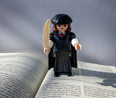 Luther (Ulrike Parnow) Tags: luther bibel
