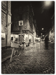 Rome Italy (seantindale) Tags: rome italy travel europe olympus omdem1markii bike bnw blackandwhite