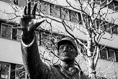 (Feininger's Cat (Thanks for 1.3 million views!)) Tags: leica leicam8 summaritm50mmf24 statue berlin street apsh leicasummaritm12450 summarit summarit50 50mm leicam rangefinder messsucher ccdsensor