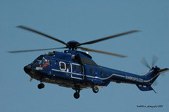 D-HEGW , F-WQED (mduthet) Tags: dhegw fwqed eurocopter as332 bundespolizei aéroportmarseilleprovence helicoptères