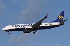 EI-GDF (LIAM J McMANUS - Manchester Airport Photostream) Tags: eigdf ryanair fr ryr boeing b737 b738 738 b73h 73h boeing737 boeing737800 egcc manchester man
