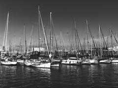 Bcn Port BW (Carlos Oteo) Tags: barcelona puerto sony a58 tamron mar sea cataluña españa spain blancoynegro blackandwhite bw bnw