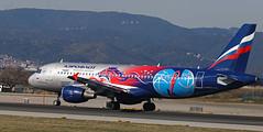 Aeroflot / Airbus A320-214 / VP-BWE (vic_206) Tags: pbccskamoscowlivery bcn lebl aeroflot airbusa320214 vpbwe