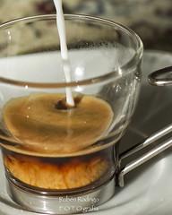 Espresso machiatto (Mister Blur) Tags: macromondays brew espresso machiatto nespresso coffee onemorecupofcoffee team work nikon d7100 50mm f18 snapseed rubén rodrigo fotografía nikkor
