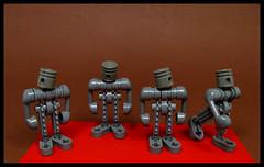 Cyclopean Curiousity (Karf Oohlu) Tags: lego moc robot droid cyclops curious scifi