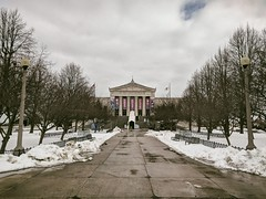 Entrance (ancientlives) Tags: chicago illinois il museumcampus sheddaquarium downtown city cityscape aquarium chicagoparks walking snow weather ice frozen clouds winter sunday 2019 february