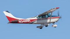 Cessna 182L N3489R (ChrisK48) Tags: kdvt aircraft n3489r airplane 1968 phoenixaz cessna182l dvt phoenixdeervalleyairport