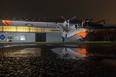 Consolidated PBY-6A Catalina L-866 (Kev Gregory (General)) Tags: consolidated pby6a catalina l866 royal danish air force markings raf cosford museum sea float dane denmark kev gregory canon 6d mark ii night reflection dayglo