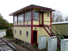 DFR Lydney Junction Signal Box P1440796mods (Andrew Wright2009) Tags: south wales gloucestershire uk scenic britain vacation holiday dean forest railway steam train heritage historic preserved lydney junction signal box