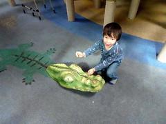 arnhem_3_050 (OurTravelPics.com) Tags: arnhem max with crocodile statue kids jungle playground park area burgers zoo