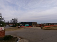 Rear view, from the edge of the CVS parking lot (l_dawg2000) Tags: 2019 breakfast chicken chickfila cows desotocounty drivethru fastfood goodmangetwell mississippi ms newconstruction restaurant silosquare snowdengrove southaven
