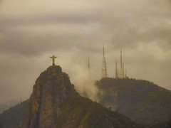 Jesus in the mist (stellagrimsdale) Tags: christtheredeemer jusus mountains mist statue sculptor rio riodejaneiro brazil mountcorcovado