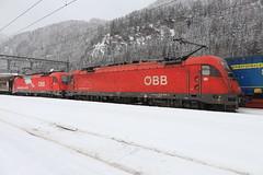 ÖBB 1216 004-2 und 1216 016-6, Brennerpass (TaurusES64U4) Tags: öbb taurus es64u4 1216