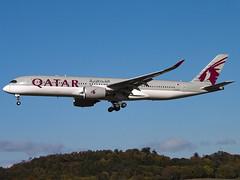 Qatar Airways | Airbus A350-941 | A7-ALH (Bradley's Aviation Photography) Tags: egph edi edinburgh edinburghairport scotland canon70d a350 airbusa350 qatar aviation avgeek aviationphotography plane planespotting qatarairways airbusa350941 a7alh