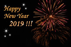 :) (green_lover (I wait for your COMMENTS!)) Tags: newyear fireworks card stars wishes