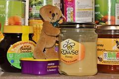 Excuse Me - Could Someone Help Me Please ? (MedievalRocker) Tags: storecupboard groceries teddybear honey marmite
