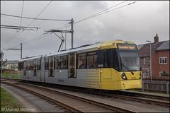 Metrolink 3089 (Mike McNiven) Tags: manchester metrolink tram metro lightrail lrv manchesterairport airport wythenshawe roundthorn martinscroft victoria marketstreet