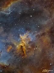 IC1805 SHO Melotte 15 (nicolasstephan) Tags: ic1805 nebuleuse ciel astro newton sbig astronomy telescope universe nebula mono tmb qsi qsi690 astrodon cosmos constellation deep space dso interstellar nebulae nebulosity orion stars skies sky night mesu mesu200 science bw astronomia astrometrydotnet:id=nova3159742 astrometrydotnet:status=solved