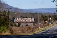 35 Miles to Beautiful Rock City. (Mr. Pick) Tags: rockcity 35milesto beautiful dekalb county al alabama barn sign