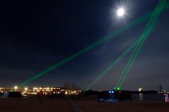 Space Waste Lab - KAF - 03 (JustJan) Tags: exif:model=nikond850 geocountry exif:make=nikoncorporation geocity geostate exif:focallength=18mm camera:model=nikond850 exif:isospeed=5000 exif:aperture=ƒ22 exif:lens=160350mmf40 camera:make=nikoncorporation spacewastelab space waste lab sky le moon almere kaf daan roosegaarde laser