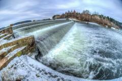 Icy waterfall (multifaceted_m) Tags: fesheye landscape hdr water waterfall wide winter nikond610 fisheye zenitar