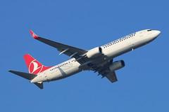 TC-JYM - LGW (B747GAL) Tags: turkish airlines boeing b7379f2er lgw gatwick egkk tcjym