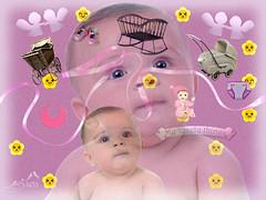 Happy Baby (SØS: Thank you for all faves + visits) Tags: digitalartwork art kunstnerisk manipulation solveigøsterøschrøder artistic