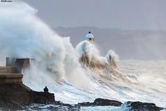 Storm Eric at Porthcawl 603_3906 (photoguy 2005) Tags: porthcawl wales sea waves lighthouse
