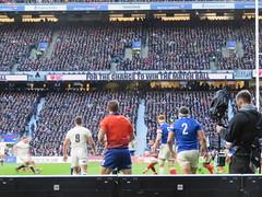 England v France 10 (oldfirehazard) Tags: england engvfra france rugby rugbyunion rufc 6nations sport twickenham london 2019 february international outdoor stadium winter