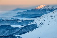 Maragidik peak (Ivaylo Madzharov) Tags: balkan mountain bulgaria landscape nature snow winter sunset forest