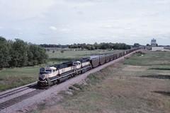 BNSF Berea, ND (larryzeutschel) Tags: bnsf railroad north dakota